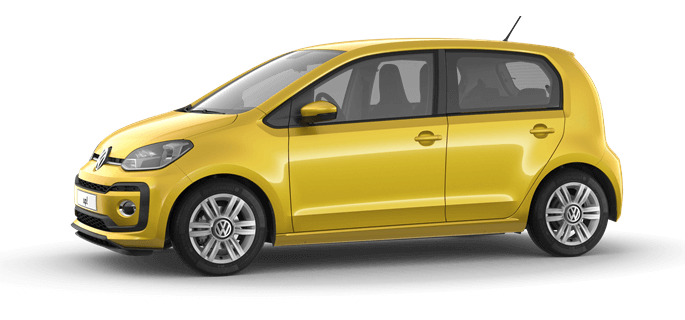 Shortlease deze Volkswagen up! bij Wittebrug Shortlease